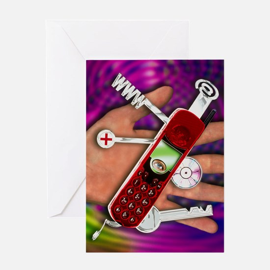 WAP mobile telephone Greeting Card