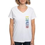 Ecuador Women's V-Neck T-Shirt