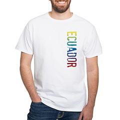 Ecuador White T-Shirt