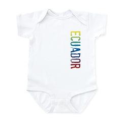 Ecuador Infant Bodysuit