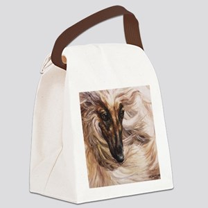 Afghan Hound Canvas Lunch Bag