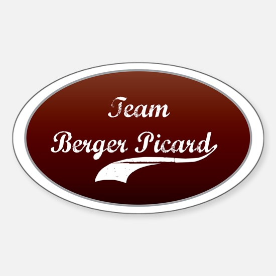 Team Berger Oval Decal