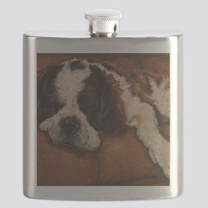 Saint Bernard Sleeping Flask