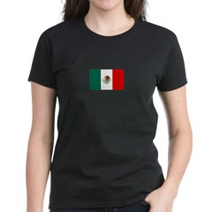 Mexico Flag Women's Dark T-Shirt