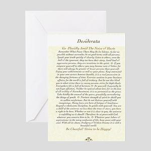 DESIDERATA Wallpaper Greeting Card