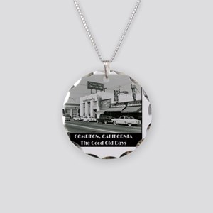 Compton Good Old Days Necklace Circle Charm