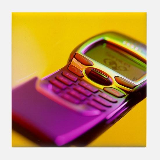 WAP mobile telephone Tile Coaster