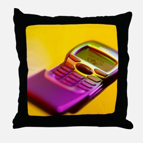 WAP mobile telephone Throw Pillow