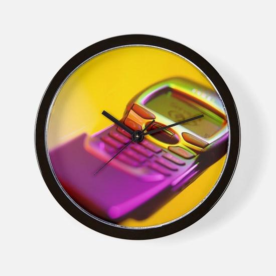 WAP mobile telephone Wall Clock