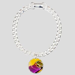 WAP mobile telephone Charm Bracelet, One Charm