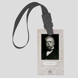 George Westinghouse, American en Large Luggage Tag