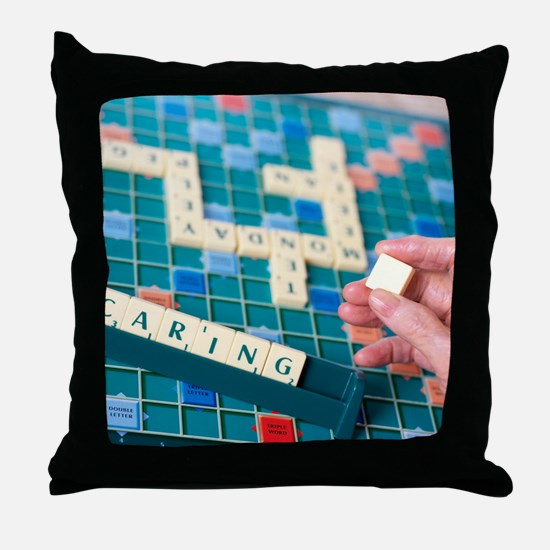 Geriatric care Throw Pillow