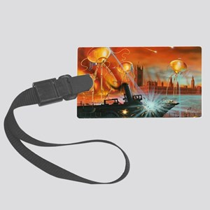 War of the Worlds, artwork Large Luggage Tag