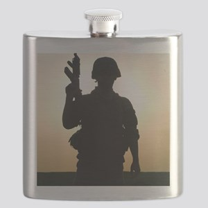 US soldier Flask