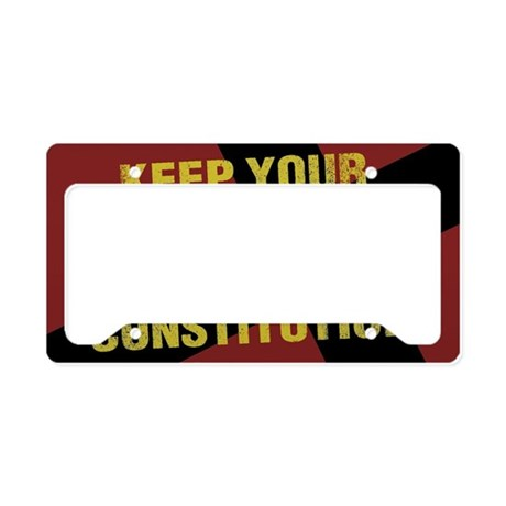 Keep Your Crucifixion License Plate Holder By Admin Cp9196929