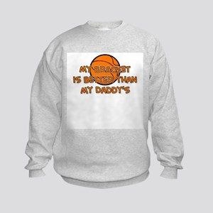 Bracket Daddy Kids Sweatshirt