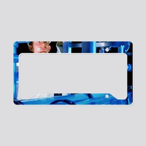Water treatment plant License Plate Holder