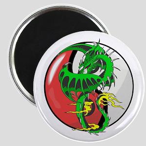 Ying Yang Dragon Magnet