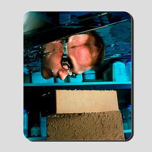 Waterproof bricks Mousepad