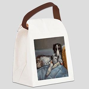 Borzoi Canvas Lunch Bag