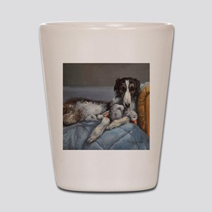 Borzoi Shot Glass