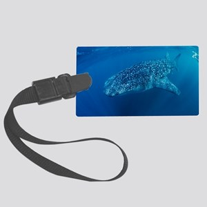 Whale shark Large Luggage Tag