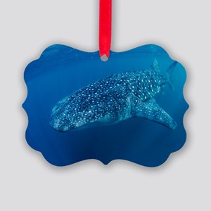 Whale shark Picture Ornament