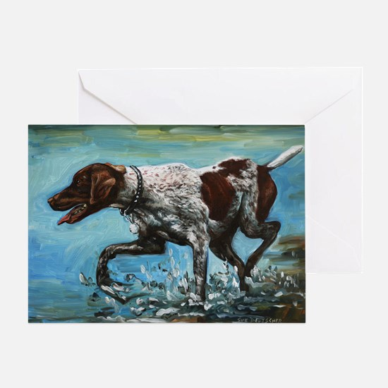 German Shorthaired Pointer Greeting Card
