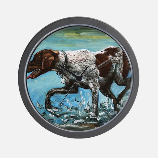 German Shorthaired Pointer Wall Clock