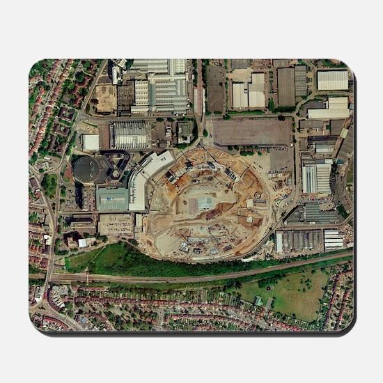 Wembley Stadium being rebuilt, 2003 Mousepad