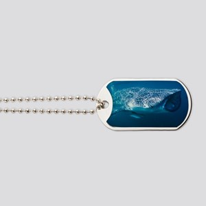 Whale shark and pilot fish Dog Tags