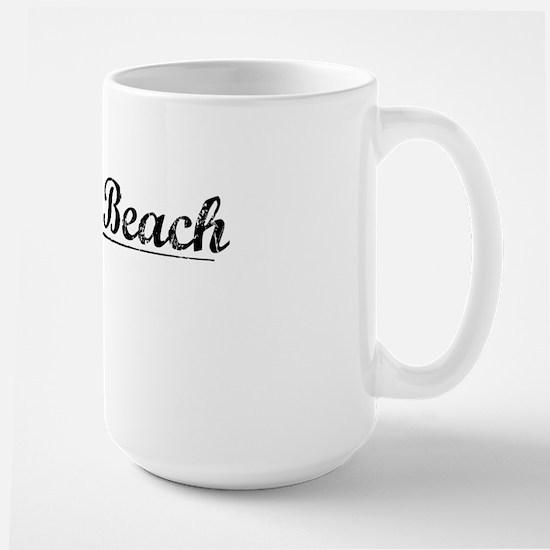 Dewey Beach, Vintage Large Mug