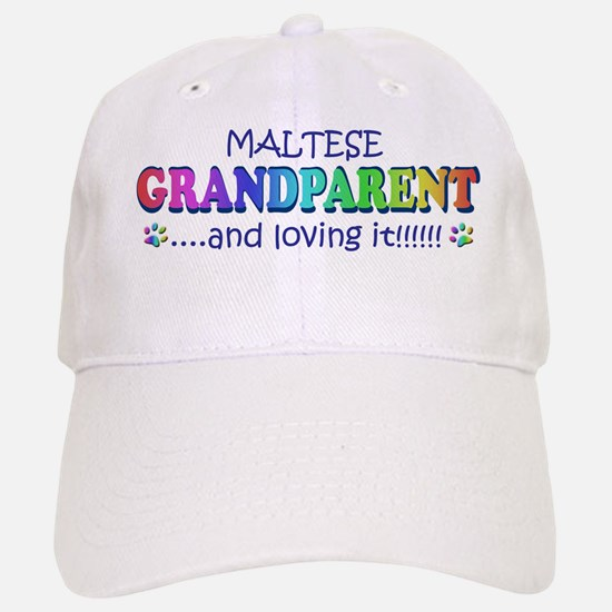 maltese Baseball Baseball Cap