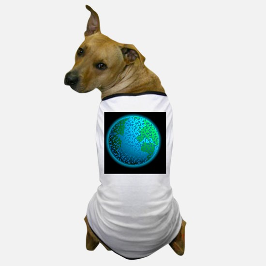 Global avian flu pandemic Dog T-Shirt