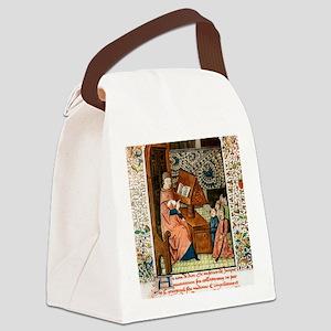 Guy de Chauliac, French surgeon Canvas Lunch Bag