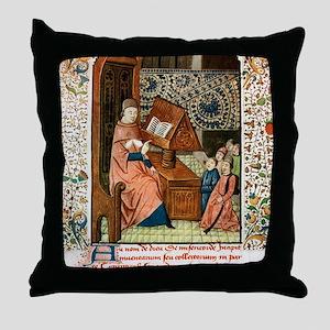 Guy de Chauliac, French surgeon Throw Pillow