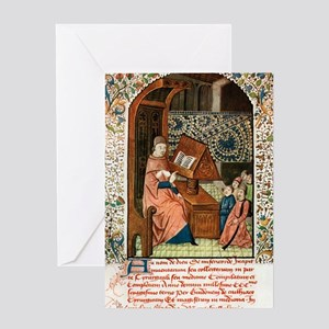 Guy de Chauliac, French surgeon Greeting Card