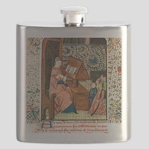 Guy de Chauliac, French surgeon Flask