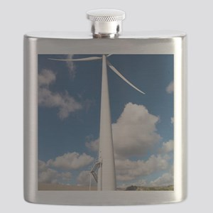 Wind turbine, Netherlands Flask