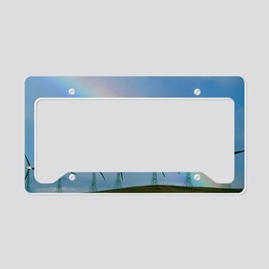 Wind farm License Plate Holder