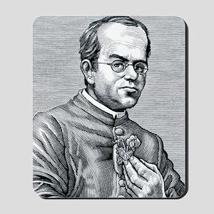 Gregor Mendel, Austrian botanist Mousepad