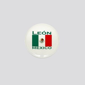 Leon, Mexico Mini Button