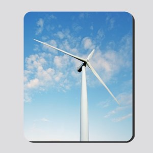 Wind turbine, Denmark Mousepad