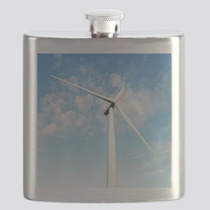 Wind turbine, Denmark Flask