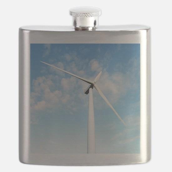 Wind turbine, Denmark Flask