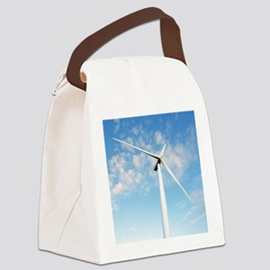 Wind turbine, Denmark Canvas Lunch Bag