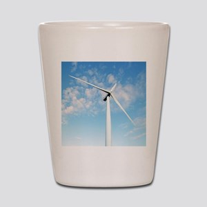 Wind turbine, Denmark Shot Glass