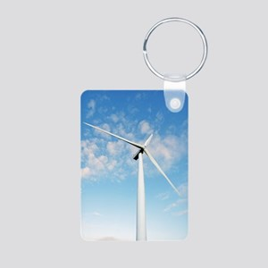 Wind turbine, Denmark Aluminum Photo Keychain