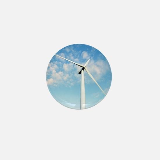 Wind turbine, Denmark Mini Button