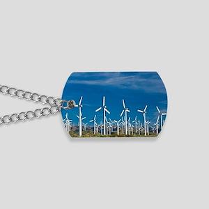 Wind turbines Dog Tags
